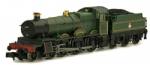 Dapol 2S-019-005D BR Grange 6437 Forthampton Lined Green E/Emblm(DCC-Fitted)